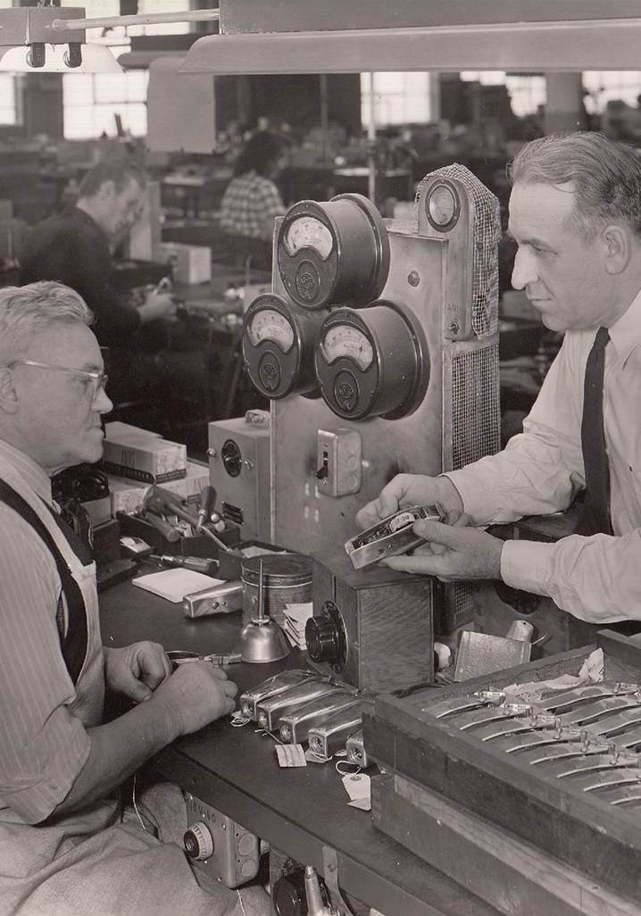 Andis Company machine shop through the years